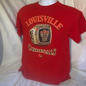 3/30 Louisville cardinals 2013 champion shirt
